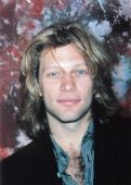 Bon Jovi - 'Jon Marble Background' Postcard